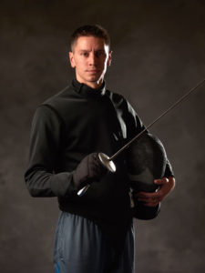NW Fencing Center Head Coach Simon Abrams
