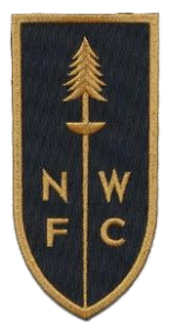 Northwest Fencing Center gold and black patch for members