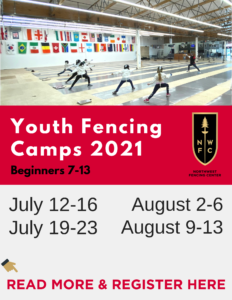 Youth Summer Camps Northwest Fencing Center Beaverton